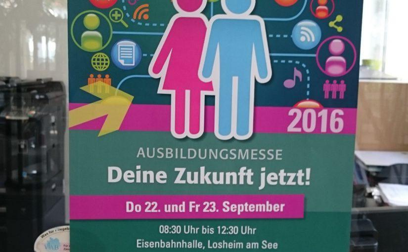 Ausbildungsmesse 2016 in Losheim am See
