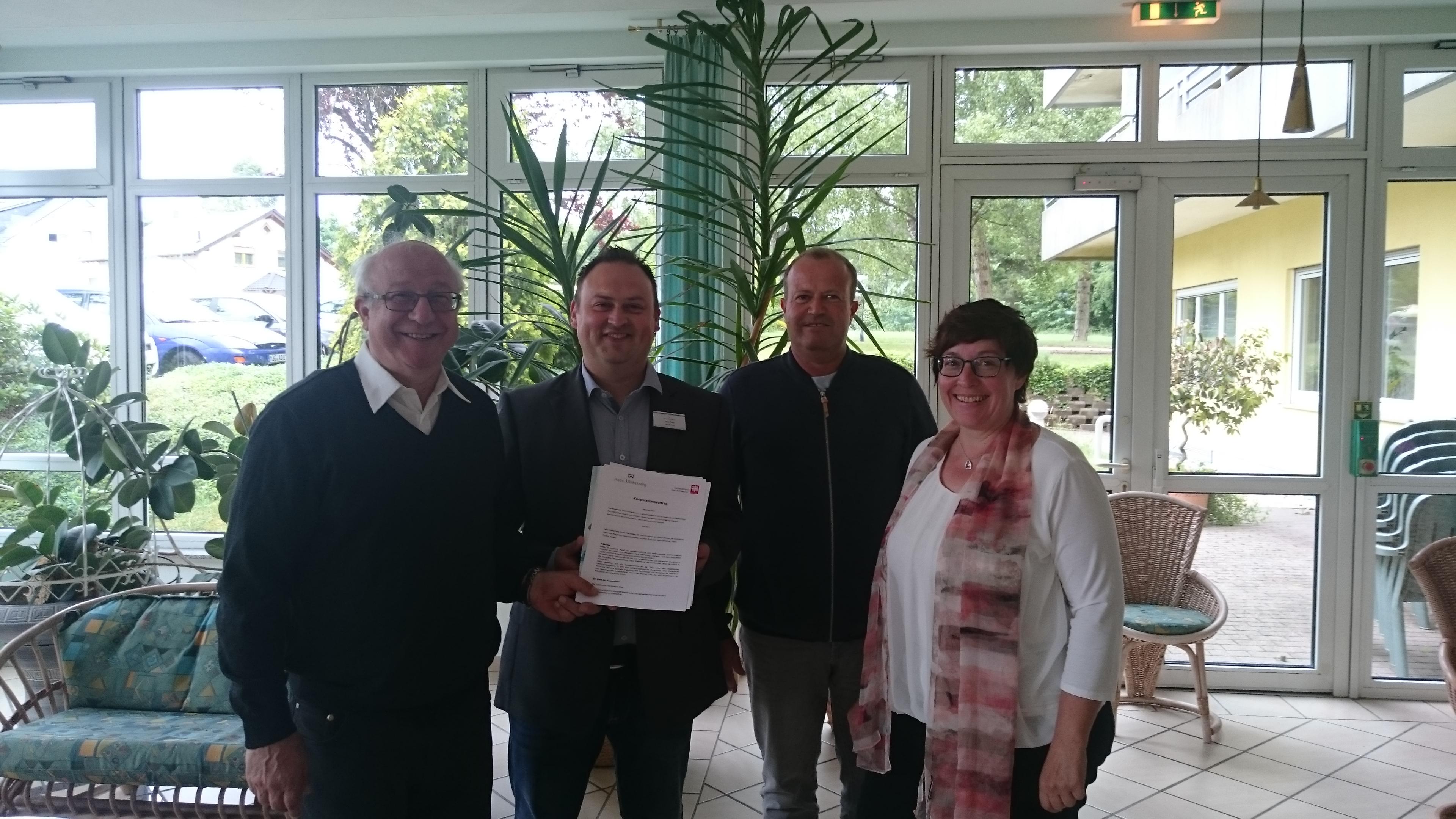 Caritas und Haus Weiherberg in Losheim am See kooperieren bei der Hospizbegleitung