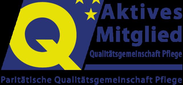 Haus Weiherberg ist aktives Mitglied der Paritätischen Qualitätsgemeinschaft Pflege